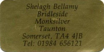 Shelagh Bellamy, Bed and Breakfast
